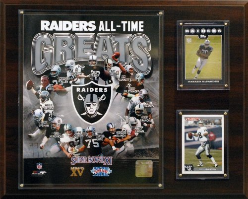 - NFL Oakland Raiders All -Time Great Photo Plaque