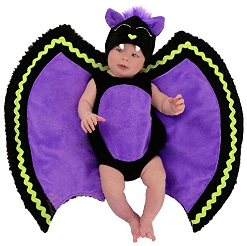 Infant Bat Costumes (Princess Paradise Baby's Swaddle Wings Baby Bat Deluxe Costume, As Shown, 0/3M)