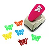 CADY Crafts Punch paper punches Creative Life Crafts Engraving Hole Punch 2-Inch -DIY Paper Punch for Card Scrapbooking Craft Punch Embossing Border School Supplies (Butterfly-2)