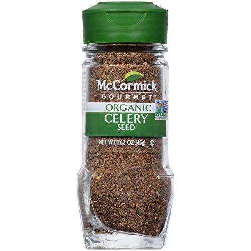 McCormick Gourmet Organic Celery Seed, 1.62 oz by McCormick