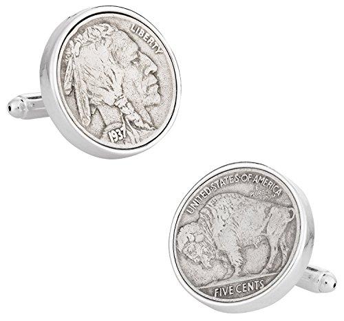 Buffalo-Nickel-Coin-Cufflinks-by-Cuff-Daddy