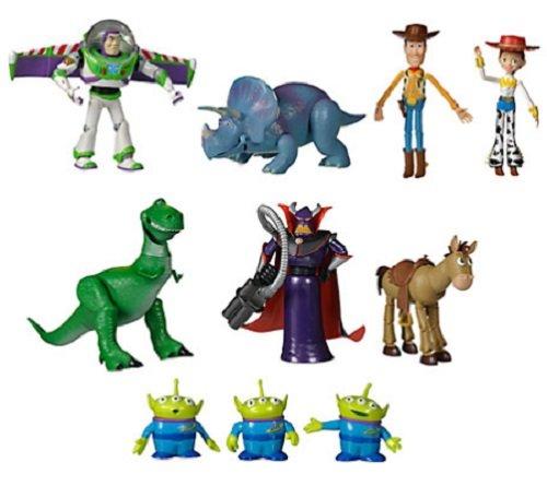 8a418e159a733 SET 10 PERSONAGGI SNODABILI TOY STORY WOODY BUZZ LIGHTYEAR REX JESSIE  ZURG...  Amazon.it  Giochi e giocattoli
