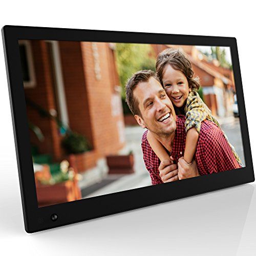 NIX Advance 17.3 Inch Digital Photo Frame X17b - Digital Picture Frame with IPS Display, Motion Sensor, USB and SD Card Slots and Remote Control by NIX (Image #1)