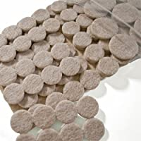 Assorted Heavy Duty Felt Pads - 113 Pcs by Cleverbrand
