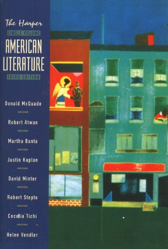 Harper Single Volume American Literature, 3rd Edition PDF