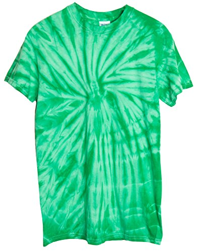 Ragstock Tie Dye T-Shirt, Spider-Kelly - M
