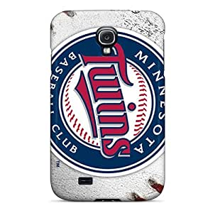 New Pkl2222NvNy Minnesota Twins Skin Case Cover Shatterproof Case For Galaxy S4