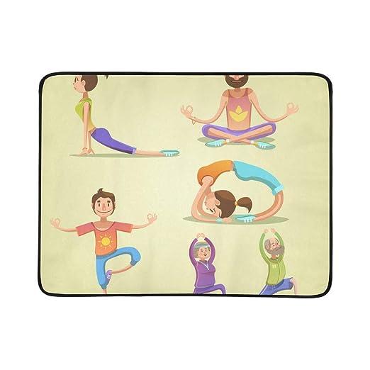 WYYWCY Niños Lindos en Diferentes posturas de Yoga patrón ...