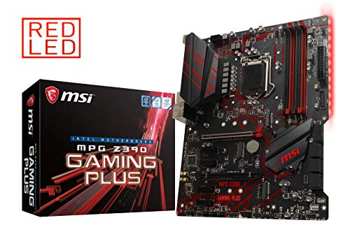 Mainboard Motherboard - MSI MPG Z390 Gaming Plus LGA1151 (Intel 8th and 9th Gen) M.2 USB 3.1 Gen 2 DDR4 HDMI DVI CFX ATX Z390 Gaming Motherboard