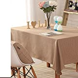 DIDIDD Linen Tablecloths Banquet Table-Cloth Table Cloth Table Cloth,B,200x300cm(79x118inch)