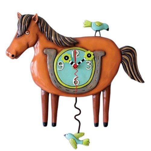 Lucky (Horse) Clock Michelle Allen Designs