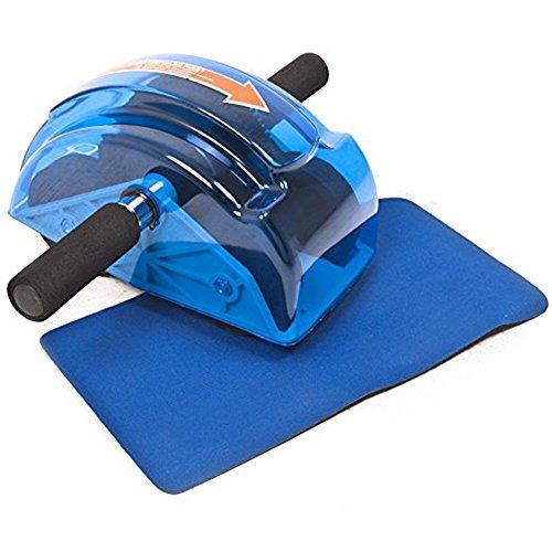Abdominal Slider Roller Wheel Machine Body Strength Trainer Gym Fitness With Mats
