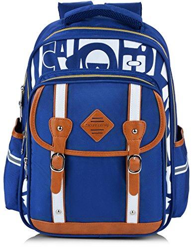 Backpack Kid,Bageek School Bags Backpacks for School Bookbag Rucksack Backpack Waterproof Backpack(blue) by Bageek (Image #8)