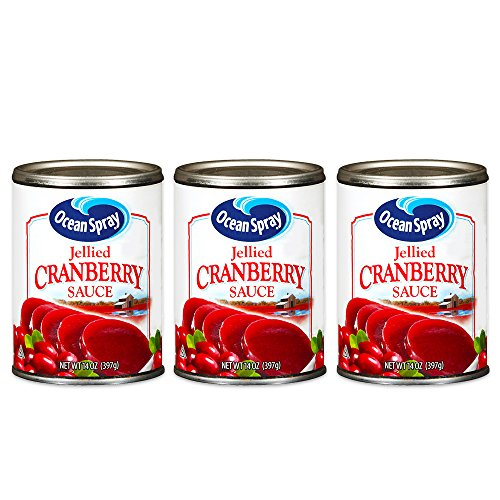 (Ocean Spray Jellied Cranberry Sauce, 14 oz, 3 pk)