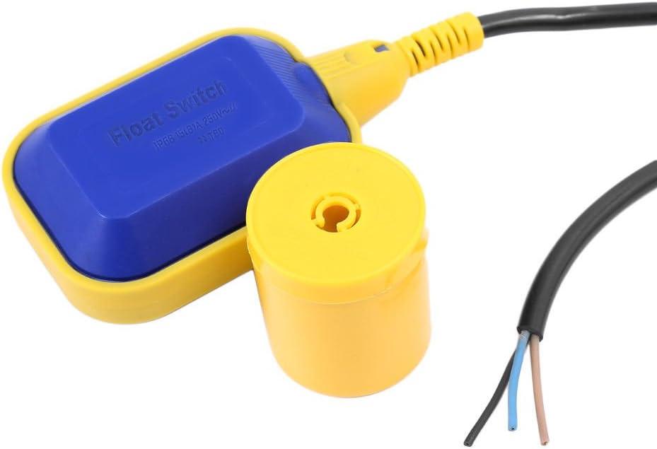 Sensor-Ebene Wasser Fl/üssigkeit Schwimmerschalter Schwimmerschalter, Schwimmerschalter Pumpe Tank fl/üssiges Wasser Niveau Regler