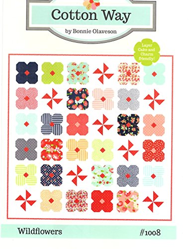 (Wildflowers Quilt Pattern by Bonnie Olaveson from Cotton Way 68