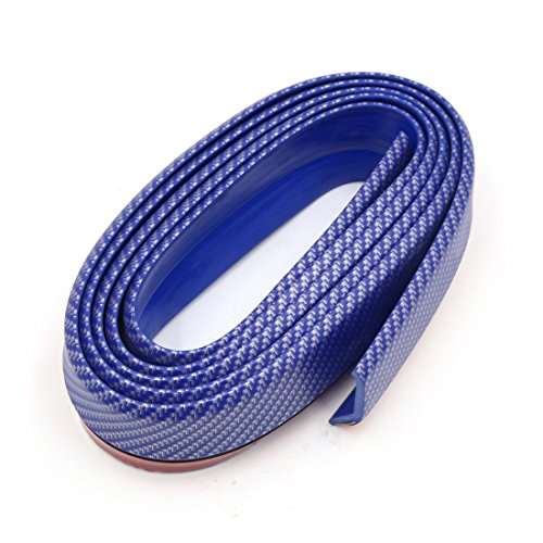 uxcell 52mm Blue Car Anti Collision Door Edge Guard Trim Decoration Protective Strip