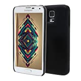LifeCHARGE Glide Samsung Galaxy S5 Slim Rechargeable External Protective Battery Case 2400mAh - Retail Packaging - Black