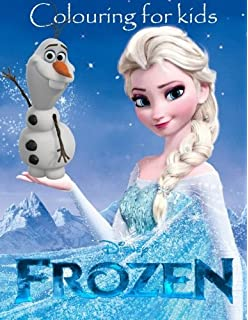 Colouring For Kids Frozen This Lovely A4 52 Page Book Young To