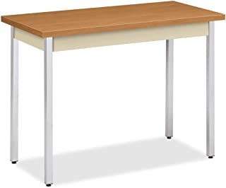 product image for HON The Company Utility Table, 40 by 20 by 29-Inch, Harvest/Putty
