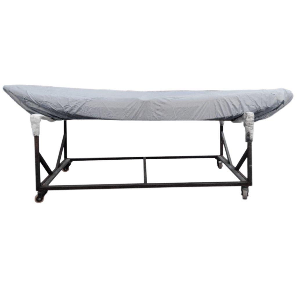 Kayak Boat Waterproof Sun Shade Cover for 2.7M Kayak Grey