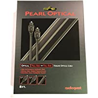 AudioQuest Pearl Toslink Optical Audio Cable 8ft