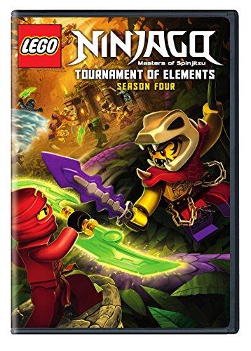 Lego Ninjago: Masters of Spinjitzu - Season Four (Subtitled, Eco Amaray Case, 2 Pack, 2PC)