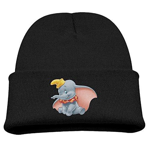 TINGHAO Dumbo Baby Mine Winter Knit Cap Beanie Cap for Kids -