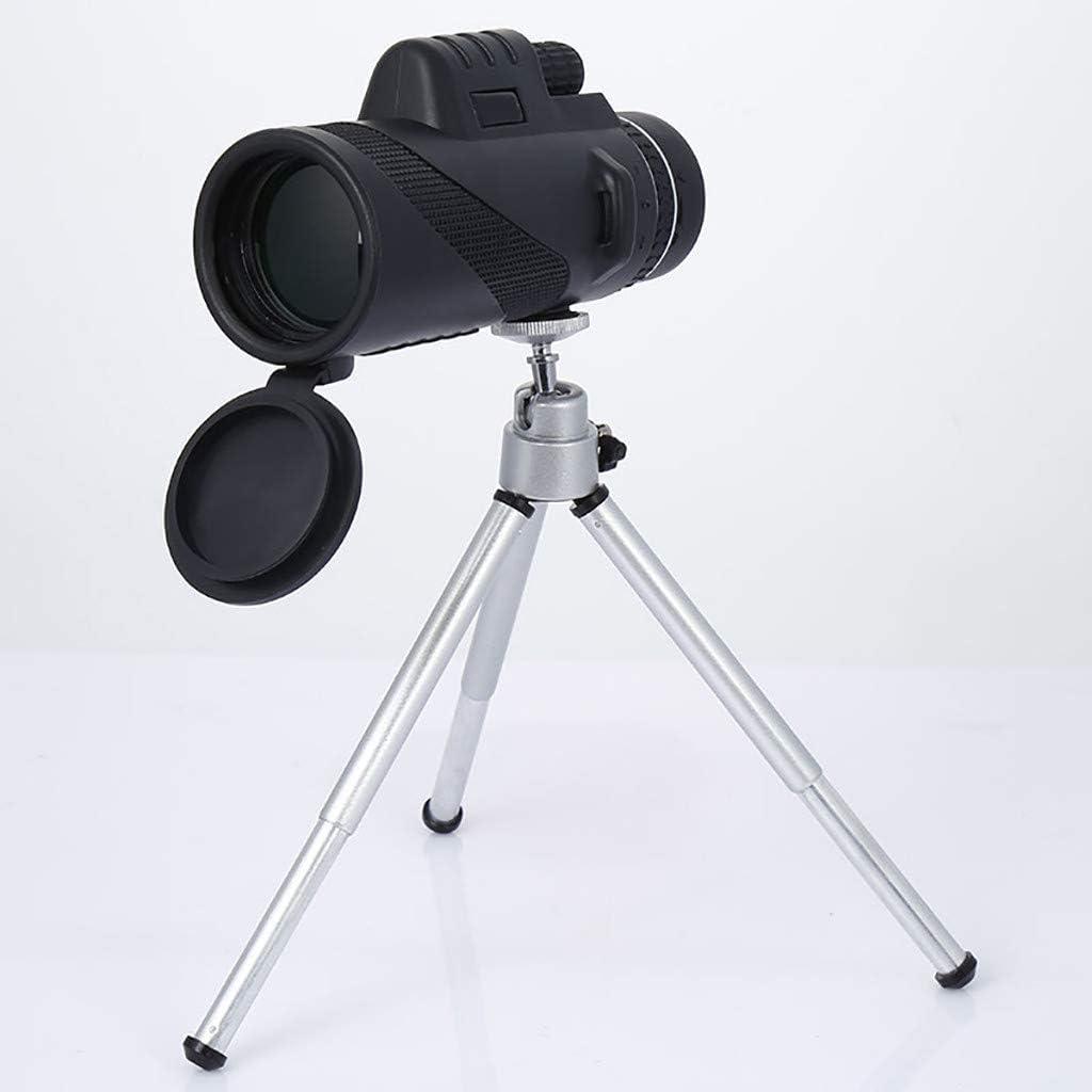 Portable Travel Telescope Aleola Monocular Telescope Travel Scope Telescope High Power 40X60 HD Monocular Telescope Shimmer LLL Night Vision Outdoor Hiking