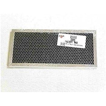 Amazon.com: 6800 Microondas Whirlpool Filtro de carbón: Home ...