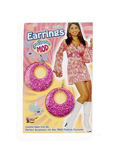 Easiest Halloween Costumes For Kids (Magenta Glitter Earrings)