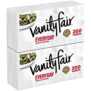 Everyday Napkins, Disposable White Paper Napkins, 660 Count