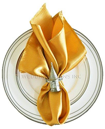Wedding Linens Inc.. 10 pcs Satin 20