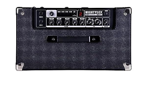 Amazon.com: AMPLIFICADOR GUITARRA ELECTRICA - Nux (Guitarra Mighty 50Xl): Musical Instruments