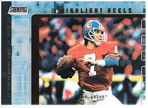 2001 Stadium Club Highlight Reels #HRJE John Elway
