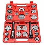 21 Pcs Disc Brake Caliper Wind Back Tool Kit Auto Brake Wind Back Pad for Car