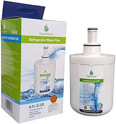 AquaHouse AH-S3B filtro de agua compatibles para Samsung nevera ...