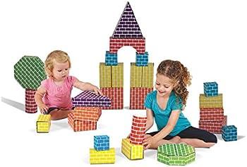 Edushape 45-Piece Blocks & Shapes Set