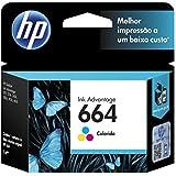 Cartucho HP 664 Colorido F6V28A