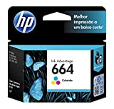 HP 664 Cartucho de Tinta para Impresoras HP 3635, 4535, 4675, Tri-Color