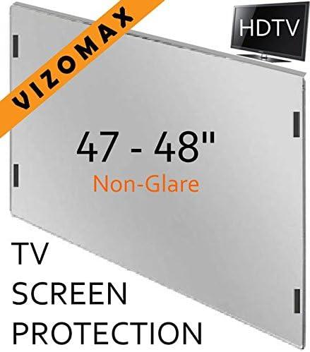 47-48 pulgadas Vizomax sin brillo TV Protector de pantalla para ...