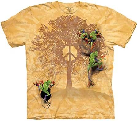 The Mountain Peace Tree Frog T Shirt - Men's Short Sleeve