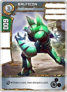 (Redakai - Bruticon - Green Machine - Redakai Base Set)