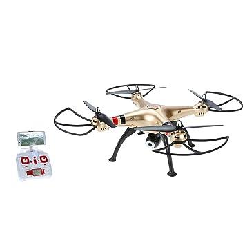 GoolRC Syma X8HW Drone con Cámara 2.0MP HD FPV Wifi Mantenimiento ...