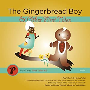 The Gingerbread Boy & Other First Tales Audiobook