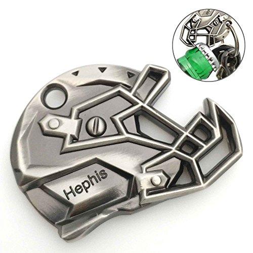 Hephis Bottle Opener Key Chain,Football Hat Keychains.Steampunk.]()