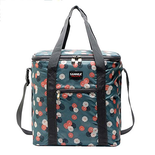 Womens lunch bag Travel Lunch Bag Large Capacity Soft Cooler Tote Insulated Lunch  Boxes Reusable Outdoor Picnic Bag Work Smooth Zipper  Lightweight Large ... 0bd11dbbde
