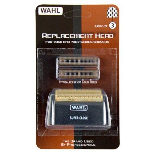 Wahl Bump Control Super Close Foil and Cutter Set, Black, 0.81 Oz 7019-500