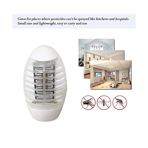 Zanzara Trappola per Interni, Mosquito Killer Light Safe USB, Plug, Basso Consumo, Ultra-Silenzioso, Repellente zanzare… 3 spesavip