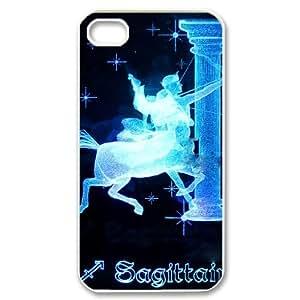 DIYCASETORE Diy Hard Shell Case Sagittarius Customized Bumper Plastic case For Iphone 4/4s